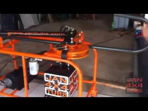 Dobradeira Curvadora de tubos hidraulica