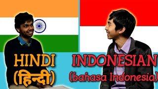 Similarities Between Hindi and Indonesian