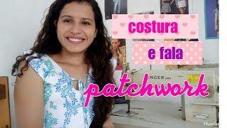 COSTURA E FALA: Patchwork, fiz uma saia com retalhos!