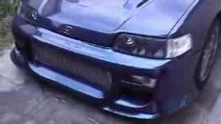 AUSTRALIAN Delivered 89 Honda CRX Turbo DOHC Stock Eng