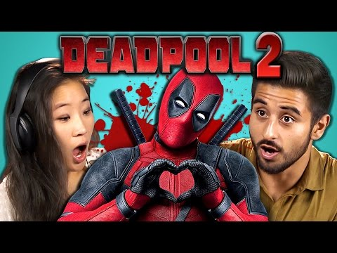 COLLEGE KIDS REACT TO DEADPOOL 2 TEASER TRAILER