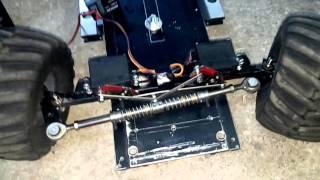 Homemade rc car steering TR ANKARA