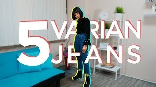 5 Tipe Celana Jeans