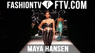 Maya Hansen at Madrid Fashion Week F/W 16-17 | FTV.com