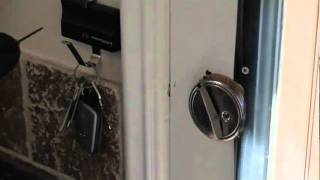 Lock Your Front Door without Key - Pull N Go