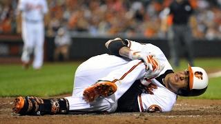 Worst MLB Injuries (WARNING)