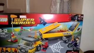 Lego Movie super hero 76067 captain america civil wer part 1
