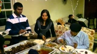 HUMAYUN AHMED LAST DAYS IN NEW YORK PARTY