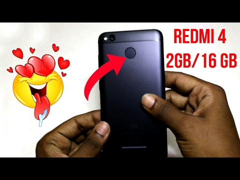 Redmi 4 First Live unboxing 2GB RAM 16GB ROM |Hindi| Android Buddy|