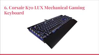 Top 10 Best Quiet Gaming Keyboards in 2019 Reviews