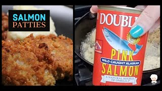 How We Make Fried Salmon Patties, Best Old Fashioned Southern Cooks