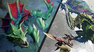How Monster Hunter World Affects Dauntless