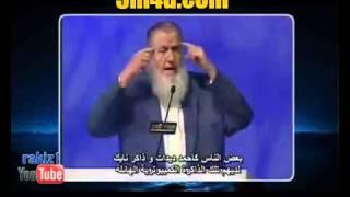مسيحي ينهار من البكاء بعد إجابة يوسف إستس على سؤاله