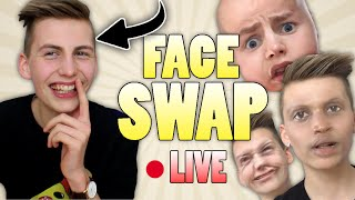 J'AI CHANGÉ DE VISAGE ! (Face Swap Live) - TIM