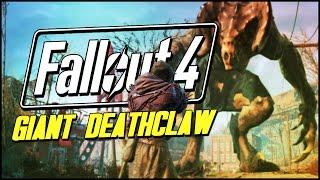 Fallout 4 Funny Moments | THE CRYOLATOR & GIANT DEATHCLAW!