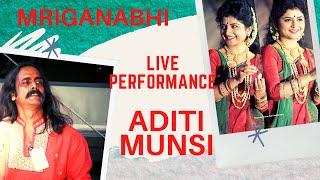 aditi munshi on stage