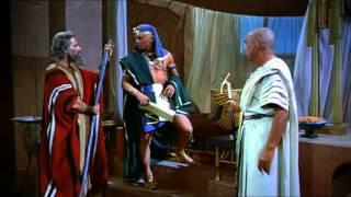 The Ten Commandments   1956 chunk 10  Pharaoh Rameses II