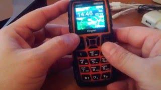 Видео обзор противоударного  телефона Land Rover Hope AK 8000 5000mah