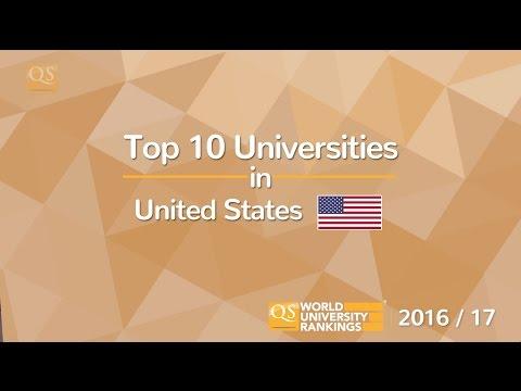 Top 10 Universities in the US 2016/17