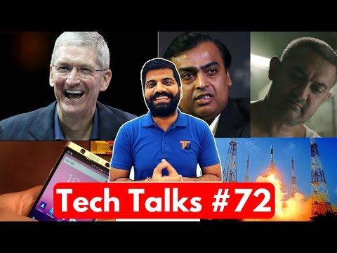 Tech Talks #72 - Apple Hits Nokia, Jio on Risk, Aadhaar Payment App, ISRO World Record