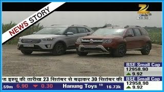 Features review of the automatic 'Renault Duster' and 'Hyundai Creta'