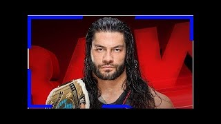 Roman reigns to defend the intercontinental title on wwe raw tonight Breaking Daily News