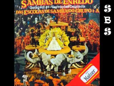Sambas De Enredo RJ 1989 Grupo 1 A 2 discos Completo