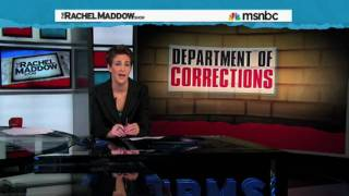Rachel Maddow Defends Herself and Shep Smith of Fox News