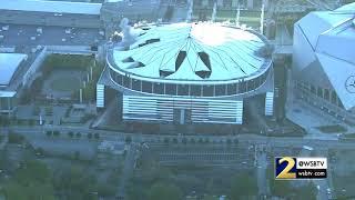 Georgia Dome Implosion: RAW VIDEO