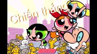3 cô gái siêu nhân, super girls game part 3