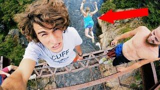 Crazy Bridge Jumping   4K