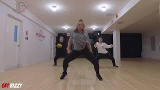 AFRICAN BAD GYAL - WIZKID FT. CHRIS BROWN Dance Choreography @BizzyBoom