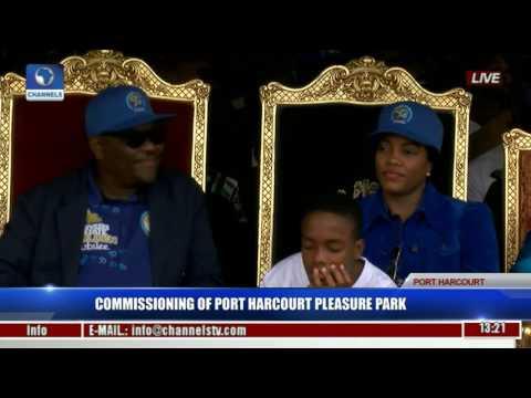 Commissioning Of Port Harcourt Pleasure Park Pt. 2