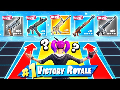 PUSH THE LINE Loot Battle NEW Game Mode in Fortnite Battle Royale