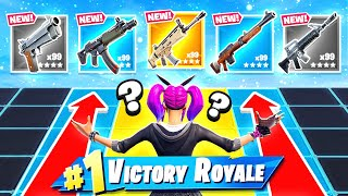 PUSH THE LINE Loot Battle *NEW* Game Mode in Fortnite Battle Royale