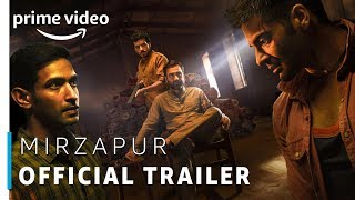 Mirzapur - Prime Original 2018   Official Trailer (UNCUT)   Rated 18+   Amazon Prime Video