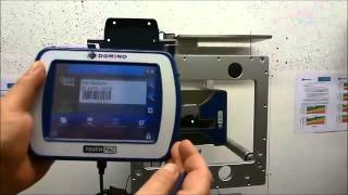 Domino V230i Thermal Transfer Overhead Printer Video