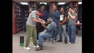 2013 Silent Library - Jimmy Fallon and the Roots Hilarious :D