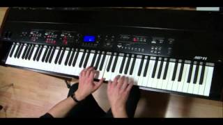 She's A Rainbow (Rolling Stones) Piano Cover on Kawai MP11