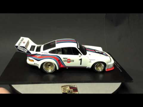 1/18 Porsche 935 1976 Martini Racing by Spark review