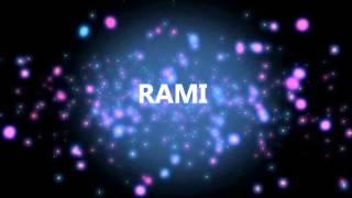 HAPPY BIRTHDAY RAMI!