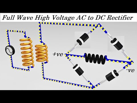 20kV High Voltage AC to DC Converter Rectifier Project DIY