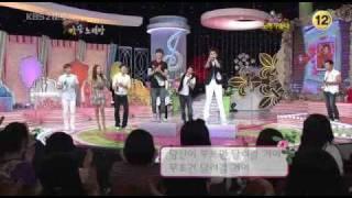 090625 Song Battle - Eunhyuk, Sungmin singing cuts