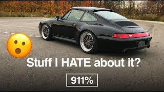 Things I HATE about my Porsche 993 | EP046