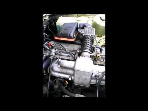 BMW E23 732i engine idling