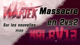 WaRTeK & MrLeV12   Massacre en 2vs2 sur les nouvelles maps MW3