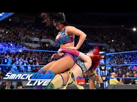 Xxx Mp4 Asuka Joins Team Blue In The Superstar Shake Up SmackDown LIVE April 17 2018 3gp Sex