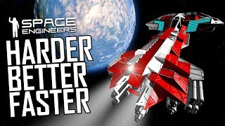 Space Engineers: Banana Mark II - Harder, Better, Faster, Stronger - Uncooperative Survival #35