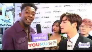 Jackson GOT7 X Desiigner Interview @AMA's
