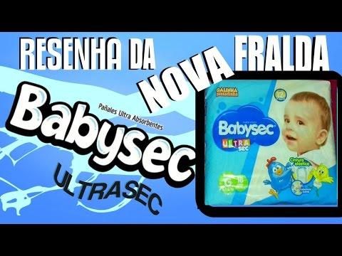RESENHA DA  NOVA FRALDA BABYSEC ULTRA SEC
